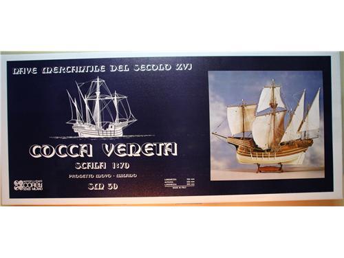 Cocca Veneta -Corel kit montaggio legno 1/70 - cod.SM30
