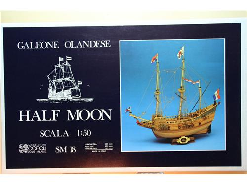 Half Moon -Corel kit montaggio legno 1/50 - cod.SM18