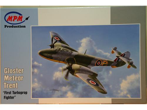 Gloster Meteor Trent - kit aerei MPM scala 1/72