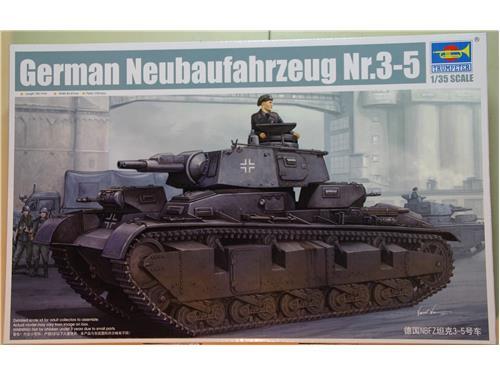 German Neubaufahrzeug Nr.3-5 - modelli Trumpeter