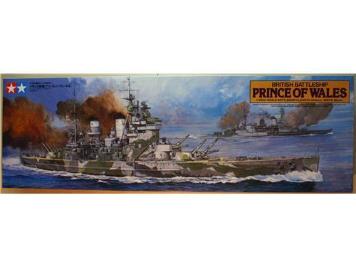 Prince of Wales British Battleship  - modelli Tamiya