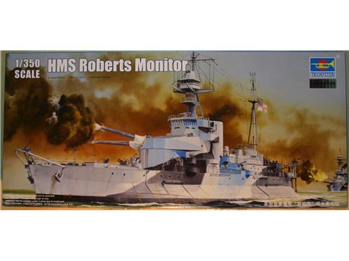 HMS Roberts Monitor - kit navi Trumpeter 1/350