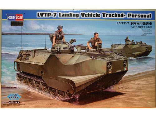 LVTP-7 Landing Vehicle Tracked- Personal - kit carri Hobby Boss