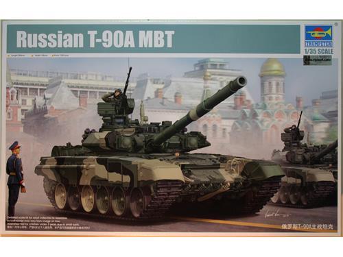 Russian T-90A MBT - art.05562 - kit Trumpeter 1/35