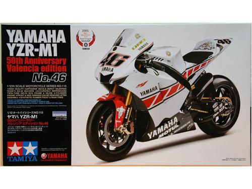 Yamaha YZR-M1 - Valencia edition N°46 - kit moto Tamiya 1/12