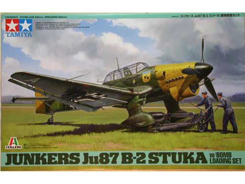 Junkers Ju87 B-2 Stuka - kit aerei Tamiya 1/48