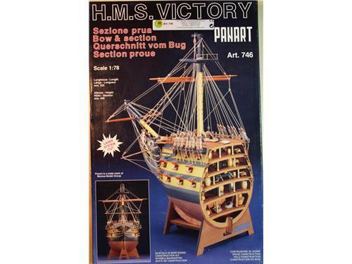 H.M.S. Victory -art.746- Sezione Prua - kit Panart 1/78