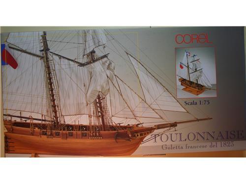 Toulonnaise -SM52- goletta francese 1823 - kit Corel 1/75