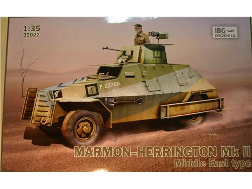 Marmon-herrington MkII Middlem East type - IBG models 1/35