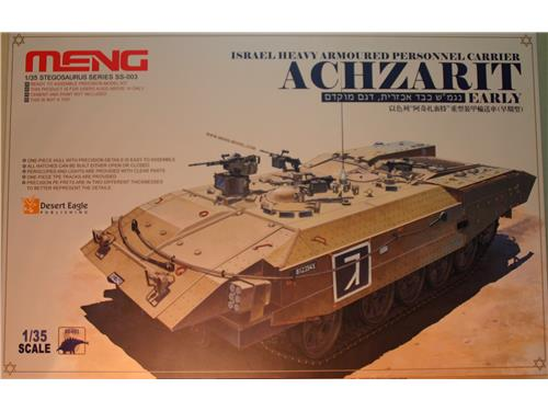 Achzarit israel heavy armoured personnel carrier - Kit Meng 1/35