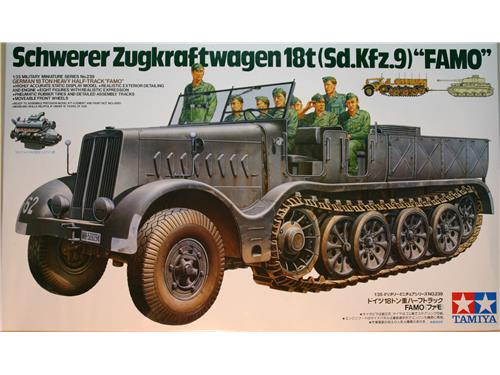 Schwerer Zugkraftwagen 18t(Sd.kfz.9)