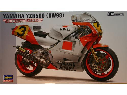 Yamaha YZR500 (0W98) - kit moto Hasegawa 1/12