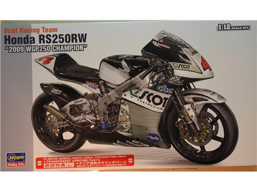 Honda RS250RW - 2009 WGP250 champion -Hasegawa 1/72
