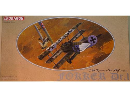 Fokker Dr.1 Knights of the sky series - kit aerei Dragon  1/48