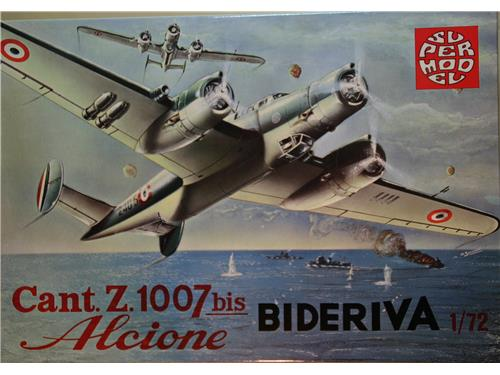 Cant. Z. 1007bis Alcione bideriva - - art. 10-006 - Super model 1/72