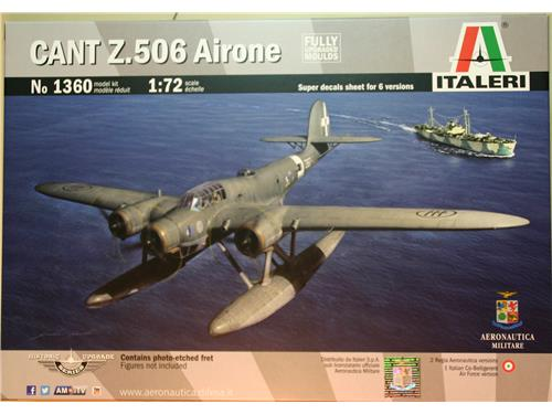 CANT Z.506 Airone - art. 1360 - kit aerei Italeri 1/72