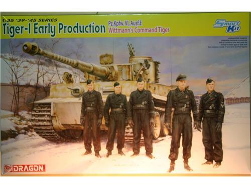 Tiger-1 Early Production - Pz.Kpfw, Ausf.E - kit carri Dragon 1/35