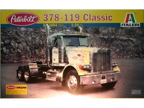 378 - 119 Classic - Peterbilt  - art. 3894 - Kit auto Italeri