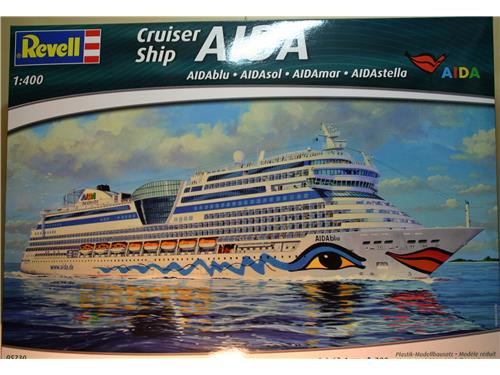 Cruiser ship AIDA  - art. 05230 - kit navi Revell 1/400
