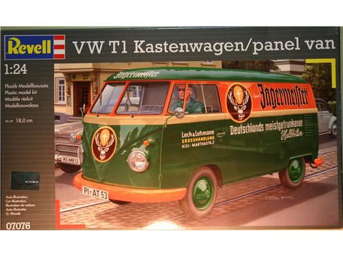 VW T1 Kastenwagen/panel van - art.07076 - kit Revell 1/24