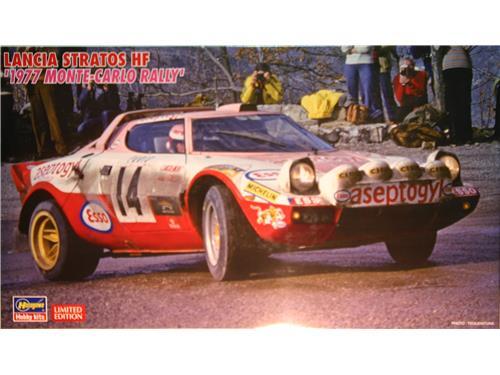 Modello auto Lancia Stratos HF - Hasegawa 1/24
