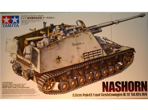 Carro armato cacciacarri Nashorn - 8.8cm Pak43/1- Tamiya 1/35