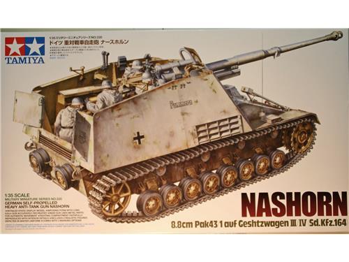 Nashorn - 8.8cm Pak43/1 - art. 35335 - Tamiya 1/35