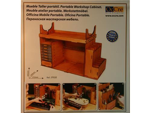 Officina Mobile Portatile - OcCre modellismo