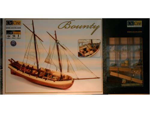 Nave in legno Bounty - OcCre 1/24