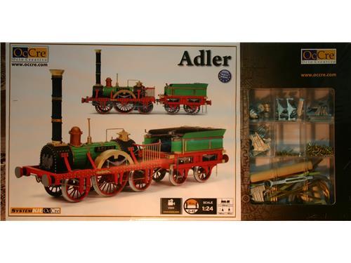 Locomotiva Adler - OcCre 1/24
