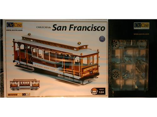 Tram di San Francisco - OcCre 1/24