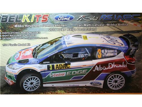 Auto Rally Fiesta RS WRC 2001 - art BEL-003 - BelKits 1/24