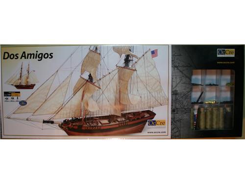 Nave in legno Dos Amigos - Occre scala 1/53