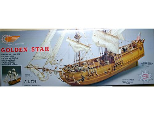 Vendita modellino in scala golden star brigantino - Mantua bagni catalogo ...