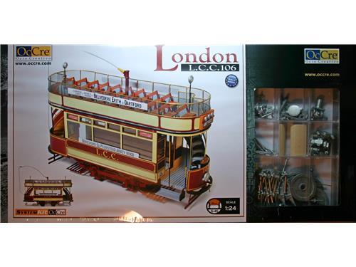 Tram London L.c.c.106 - art. 53008 - OcCre 1/24