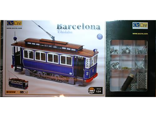 Tram Barcelona - art. 53001 - OcCre 1/24