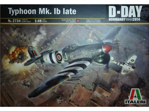 Typhoon Mk.1b late - art. 2734 - Italeri 1/48