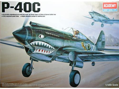 P-40C - art. 12280 - Academy 1/48