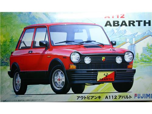 A112 ABARTH - art. RS-10  126173 - Fujimi 1/24
