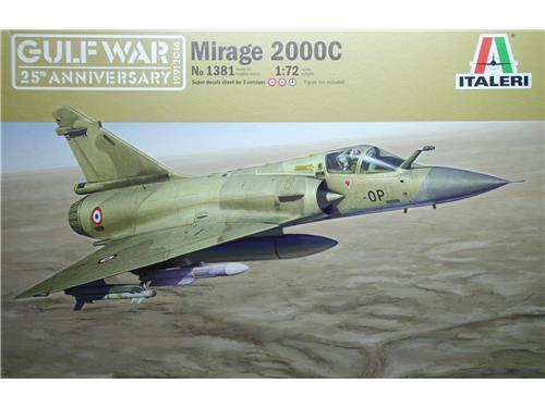 Mirage 2000C - art. 1381 - Italeri 1/72