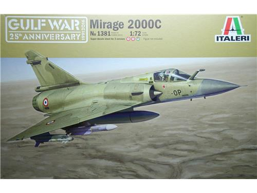 Mirage 2000C - art. 1381 - Italeri 1/72