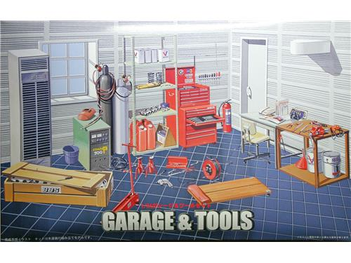 Garage & Tools - art. GT-15  11118 - Fujimi 1/24