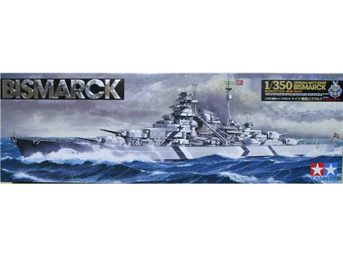 Bismarck - german battleship - art. 78013 - TAMIYA 1/350