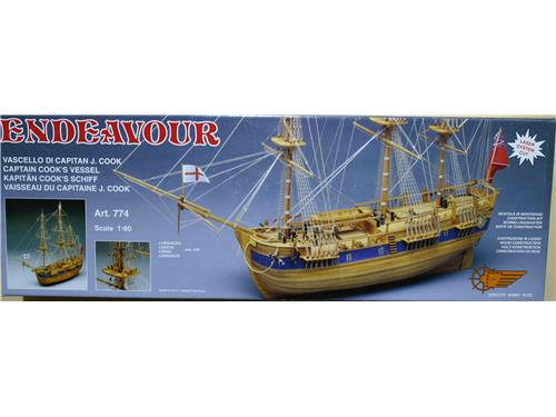 Endeavour - vascello di capitan J. Cook - art. 774 - Mantua Model 1/60
