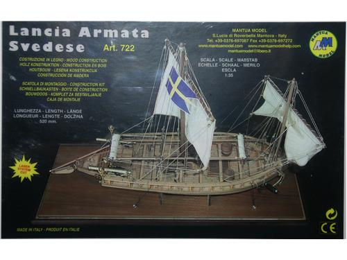 Lancia armata svedese - art. 722 - Mantua Model 1/35