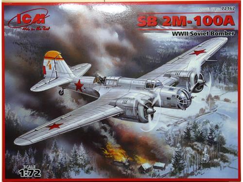 SB 2M-100A - WWII Soviet Bomber - art. 72162 - ICM 1/72