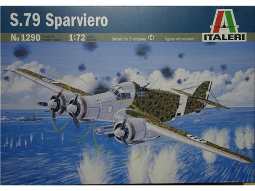 S.79 Sparviero - art. 1290 - Italeri 1/72