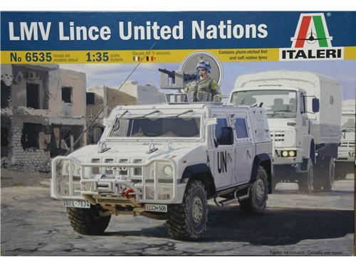 LMV Lince United Nations - art. 6535 - Italeri 1/35