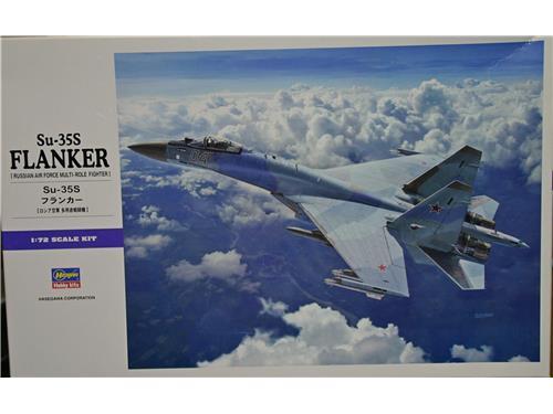 Su-35S Flanker - art. 01574 - Hasegawa 1/72