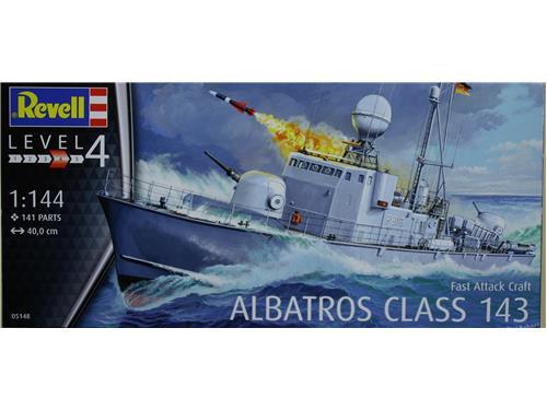 Albatros class 143 - fast attack craft - art. 05148 - Revell 1/144